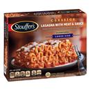 Stouffer's Satisfying Servings Lasagna With Meat & Sauce
