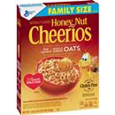 General Mills Honey Nut Cheerios Gluten Free Cereal Family Size