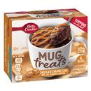 Betty Crocker Mug Treats Chocolate Caramel Cake Mix with Caramel Topping 4Ct