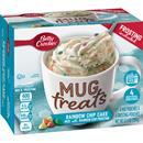 Betty Crocker Mug Treats Rainbow Chip Cake Mix with Rainbow Chip Frosting 4Ct