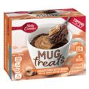 Betty Crocker Mug Treats Chocolate Peanut Butter Brownie Mix with Peanut Butter Topping 4Ct