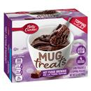 Betty Crocker Mug Treats Hot Fudge Brownie Mix with Fudge Topping 4Ct