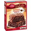 Betty Crocker Delights Supreme Original Brownie Mix