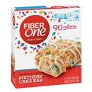 Fiber One 90 Calorie Birthday Cake Baked Bar 6 - .89 oz Bars