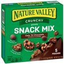 Nature Valley Crunchy Oats &#39N Chocolate Snack Mix 5 - 1.2 oz Pouches