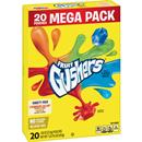 GM Fruit Gushers Strawberry Splash and Tropical Flavors 20 - .8 oz Pouches