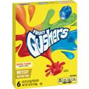 Fruit Gushers Tropical Flavors Fruit Flavored Snacks 6 - .8 oz Pouches