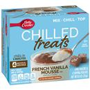 Betty Crocker Chilled Treats French Vanilla Mousse Mix 4Ct