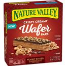 Nature Valley Crispy Creamy Wafer Bar, Peanut Butter Chocolate 5-1.3oz Bars
