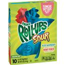 Betty Crocker Sour Fruit Roll Ups 10-0.5 oz Rolls