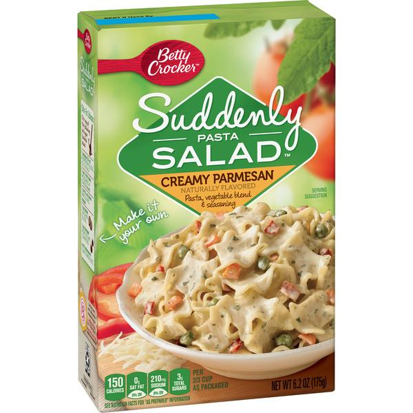 Betty Crocker Suddenly Pasta Salad Creamy Parmesan