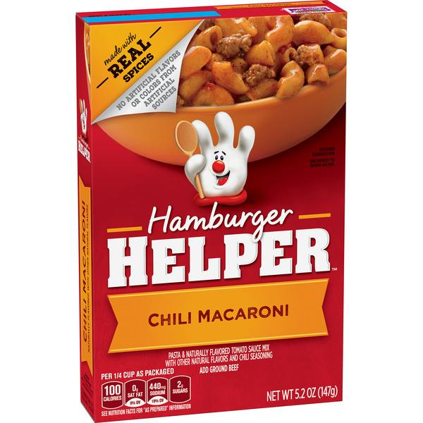 Betty Crocker Hamburger Helper Chili Macaroni