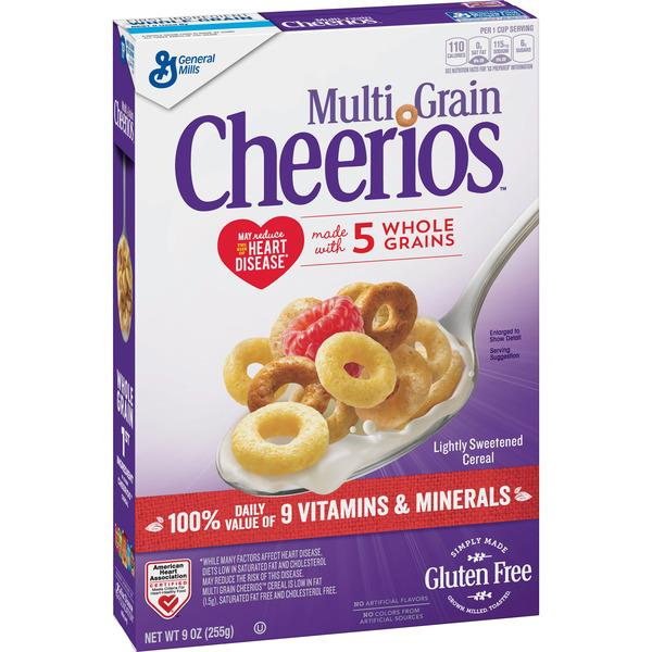 General Mills Multi Grain Cheerios Cereal