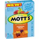 Mott&#39s Tropical Fruit Fruit Flavored Snacks 10-0.8 oz Pouches