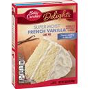 Betty Crocker Delights Super Moist French Vanilla Cake Mix