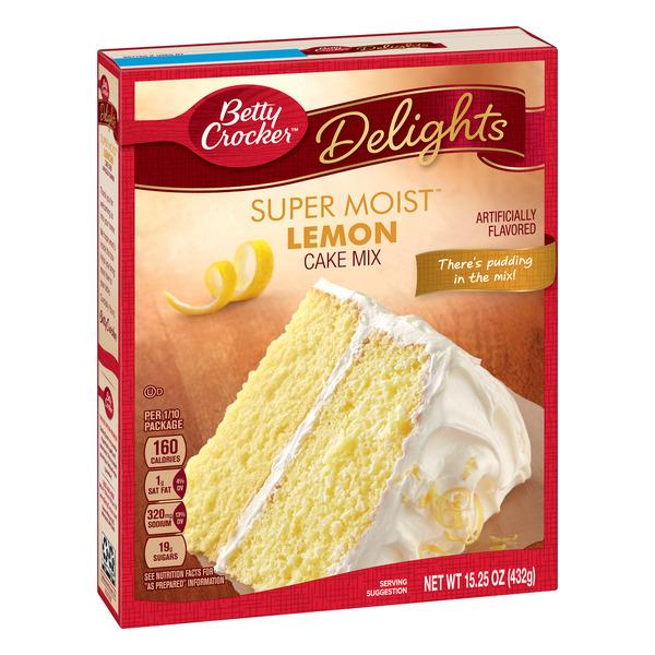 Betty Crocker Delights Super Moist Lemon Cake Mix