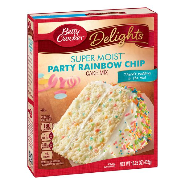 Betty Crocker French Vanilla Cake Mix Nutrition Facts