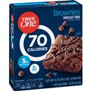Fiber One 70 Calorie Chocolate Fudge Brownies 6-0.89 oz Brownies