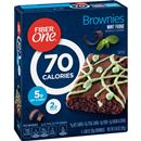 Fiber One 70 Calorie Mint Fudge Brownies 6-0.89 oz Brownies