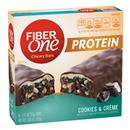 Fiber One Protein Cookies & Creme Chewy Bars 5-1.17 oz Bars