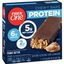 Fiber One Protein Peanut Butter Chewy Bars 5-1.17 oz Bars