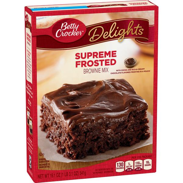 Betty Crocker Delights Supreme Frosted Brownie Mix