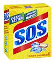 S.O.S Reusable Soap Filled Steel Wool Pads 10Ct