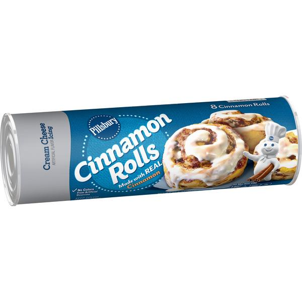 Pillsbury Cinnamon Rolls with Cream Cheese Icing 8Ct