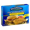 Van de Kamp's Original Recipe Fish Sandwich Fillets 6Ct