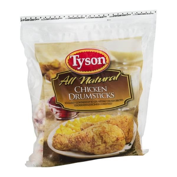 Tyson All Natural Chicken Drumsticks