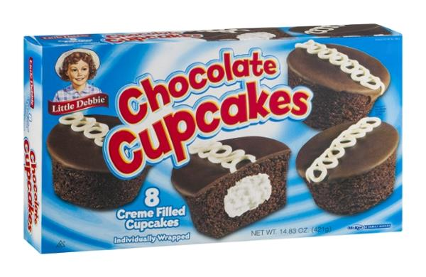 Little Debbie Chocolate Cupcakes - 8 CT Pre-Priced