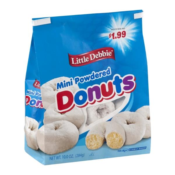 Little Debbie Mini Powdered Donuts