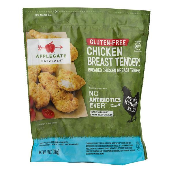 Applegate Natural Gluten Free Breaded Chicken Breast Tenders