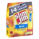 Slim Jim Mild Smoked Snack Sticks, 14-0.28 Oz Sticks