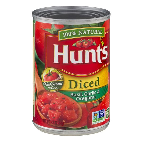 Hunt's Diced Tomatoes with Basil, Garlic, & Oregano