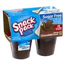 Snack Pack Sugar Free Chocolate Pudding Cups 4-3.25 oz Cups