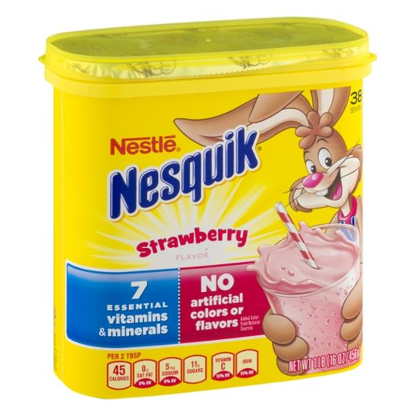 Nestle Nesquik Strawberry Powder
