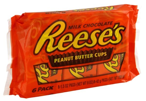 Reese&#39s Peanut Butter Cups Full Size - 6 CT