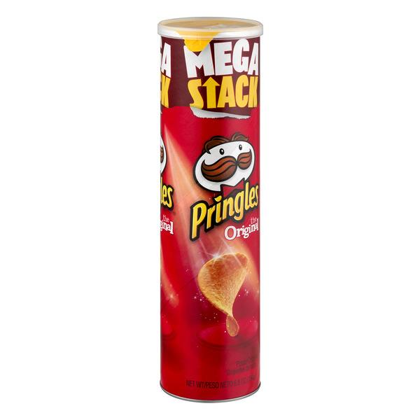 Pringles Mega Stack Original Potato Crisps