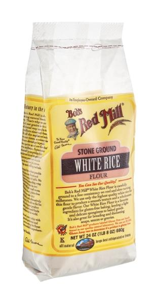 Bob's Red Mill Gluten Free White Rice Flour Stone Ground