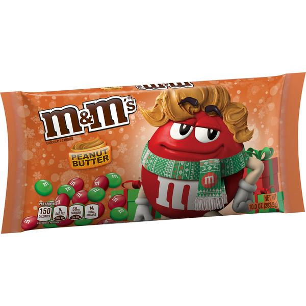 Christmas M&M's Peanut Butter Chocolate Candies