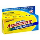 Aspercreme With Lidocaine Maximum Strength Pain Relieving Cream Odor Free