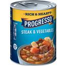 Progresso Rich & Hearty Steak & Vegetables Soup