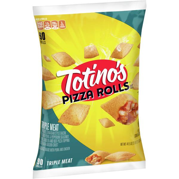 Totino's Triple Meat Pizza Rolls 90Ct