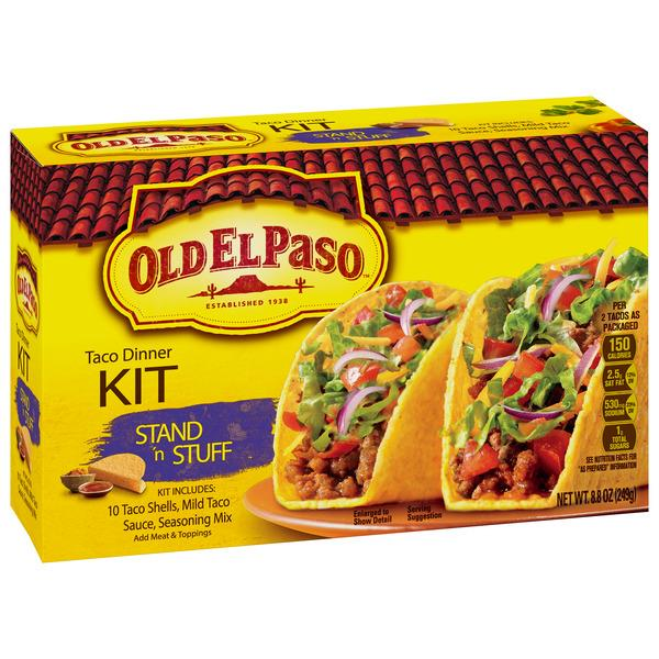 Old El Paso Stand n Stuff Taco Dinner Kit