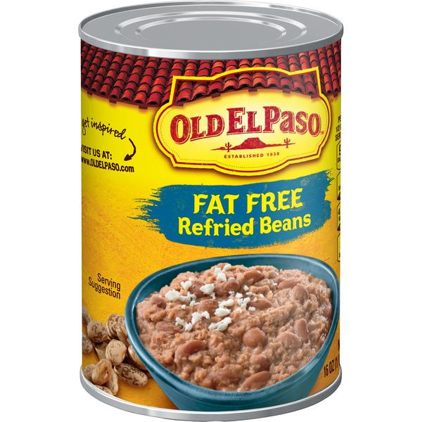 Old El Paso Fat Free Refried Beans