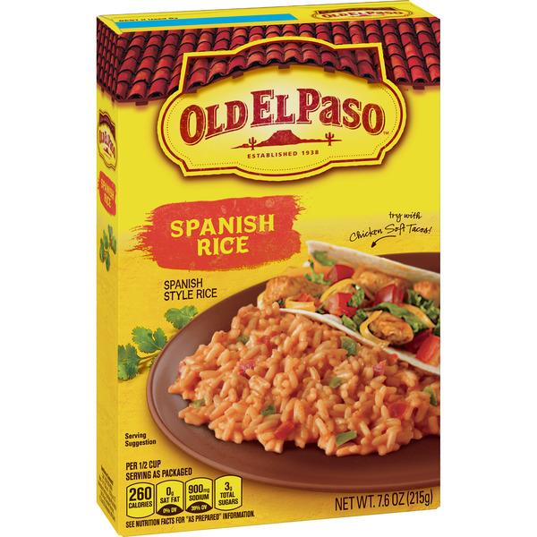 Old El Paso Spanish Rice
