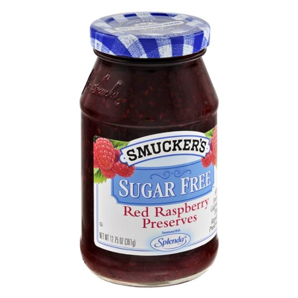 Smucker's Sugar Free Red Raspberry Preserves
