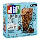Jif Power Up Chocolate Peanut Butter Chewy Granola Bars 5 - 1.3 oz Bars
