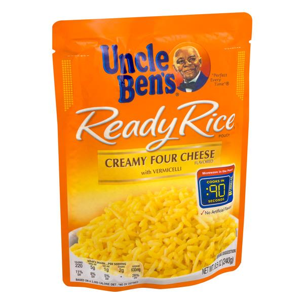 Uncle Ben's Ready Rice Creamy Four Cheese